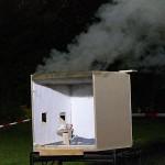 Rauchgase im Modell