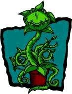 Grafik, stilisierte Pflanze, Alpha5