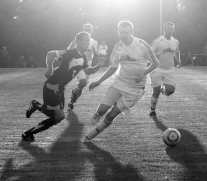 Enstanden beim Spiel im August 2010 als Hannover-96 in Dollbergen gespielt hat.