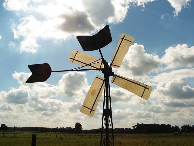 Windradpumpe